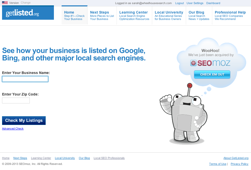 Local SEO - GetListed