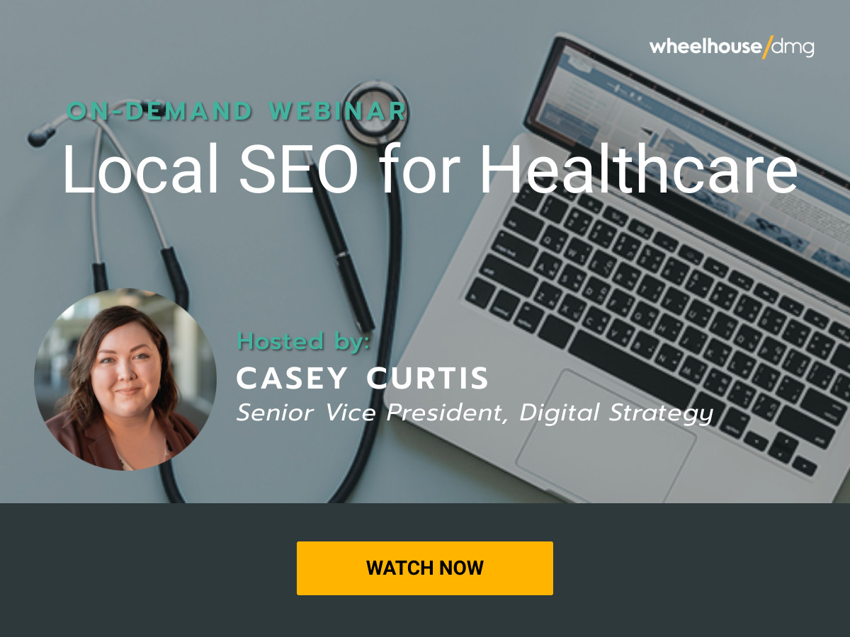 On-Demand Webinar: Local SEO for Healthdare